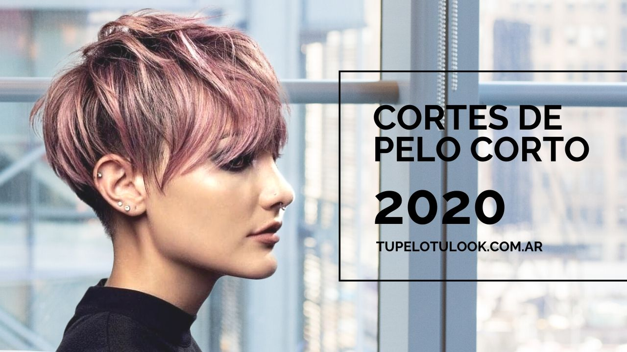 Cortes de pelo corto actuales 2020