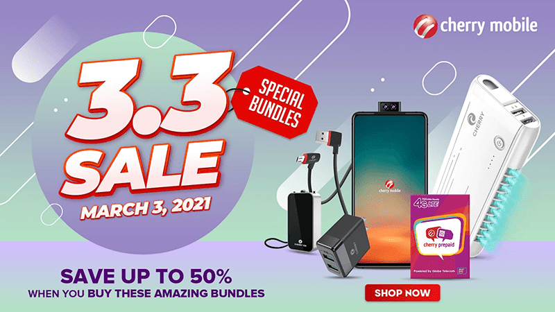 CHERRY announces Shopee and Lazada 3.3 deals