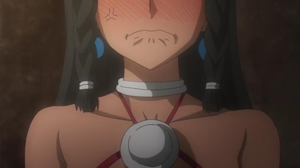 アニメ「ソードオラトリア」4話感想:男を誘惑する女の身体検査してたら触手モンスターがすぐそこに!