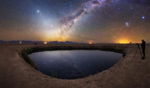 Đêm đầy sao ở Laguna. Hình ảnh: Kerry-Ann Lecky Hepburn (Weather and Sky Photography).
