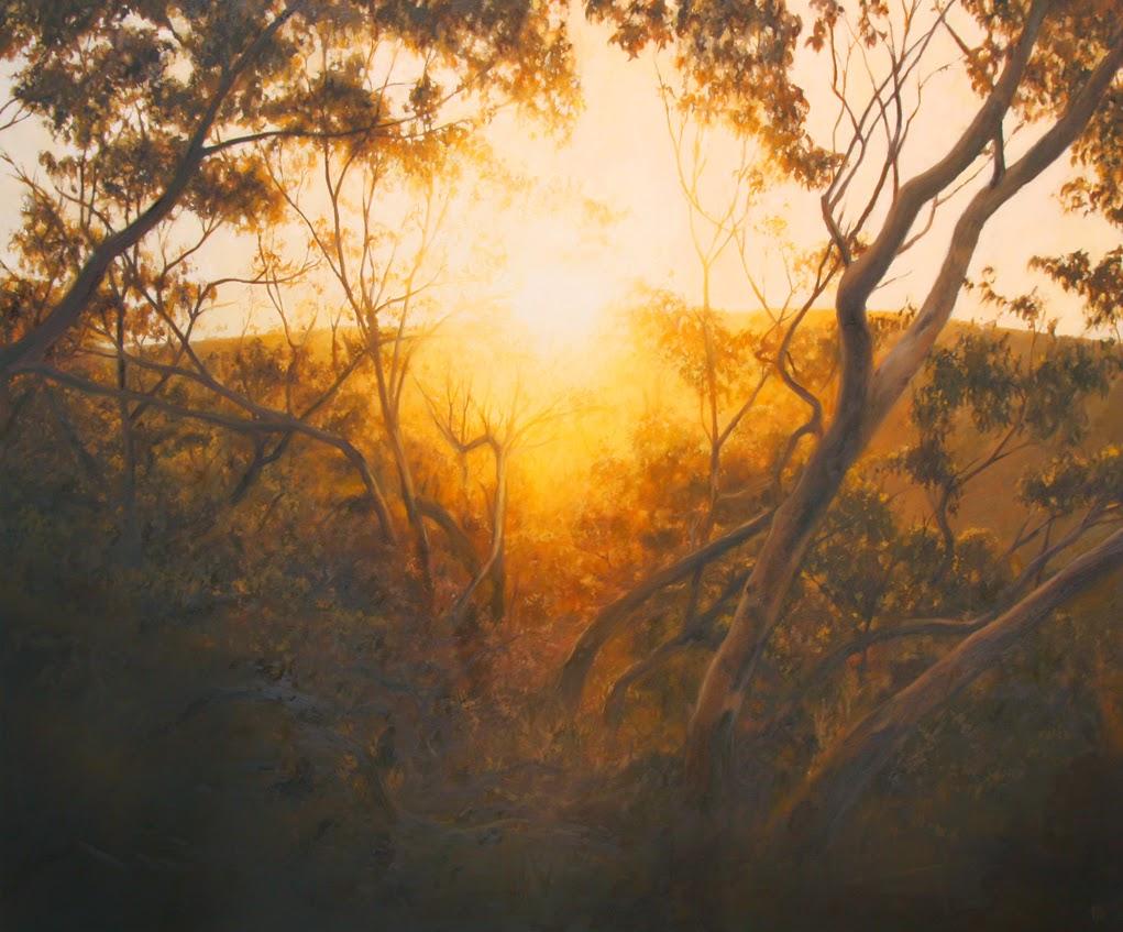 Sombras e Silhuetas dar Testemunho da Luz - Matthew Weathers e suas pinturas | O pintor da luz