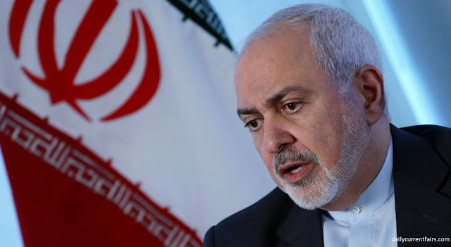 Iran's Foreign Minister Muhammad Jawad Zarif said on Monday that the entire Gulf region had become a heap of gunpowder. He blamed the US for this situation. Zarif, who arrived in Doha, Qatar's capital on an official visit, said in a TV interview that the United States and its allies are collecting arms in the Gulf region.    Zarif also met Emir Tamim bin Hamad Al Thani of Qatar. Qatar has good relations with Iran as well as America. Qatar is the major US military base in the Gulf region. Qatar is trying to reduce tensions in the relationship between the two countries after the withdrawal of the US from the nuclear deal with Iran. The US has recently increased its military deployment in West Asia.