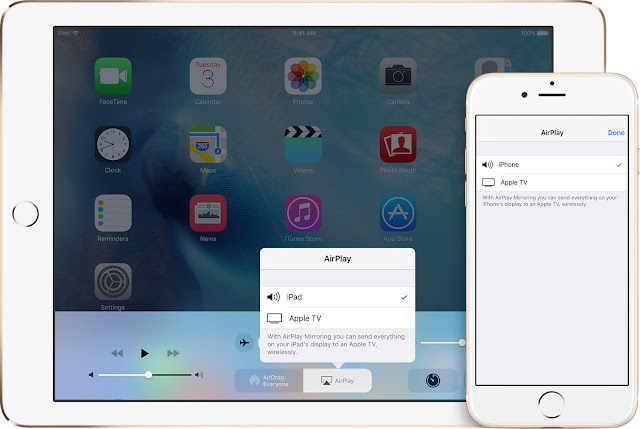 AirPlay on iOS iPhone/iPad