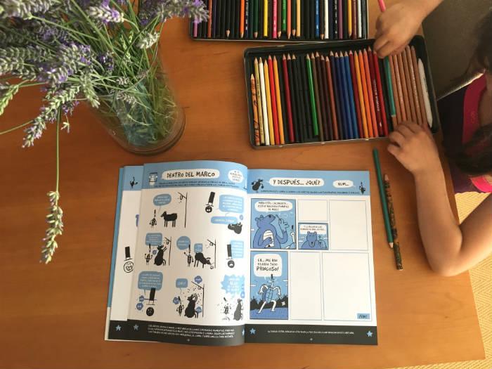 libro infantil edelvives actividades, crea tu cómic
