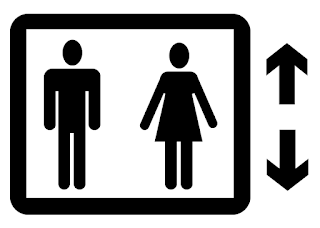Elevator icon, created and released to public domain by Stephen Cobb