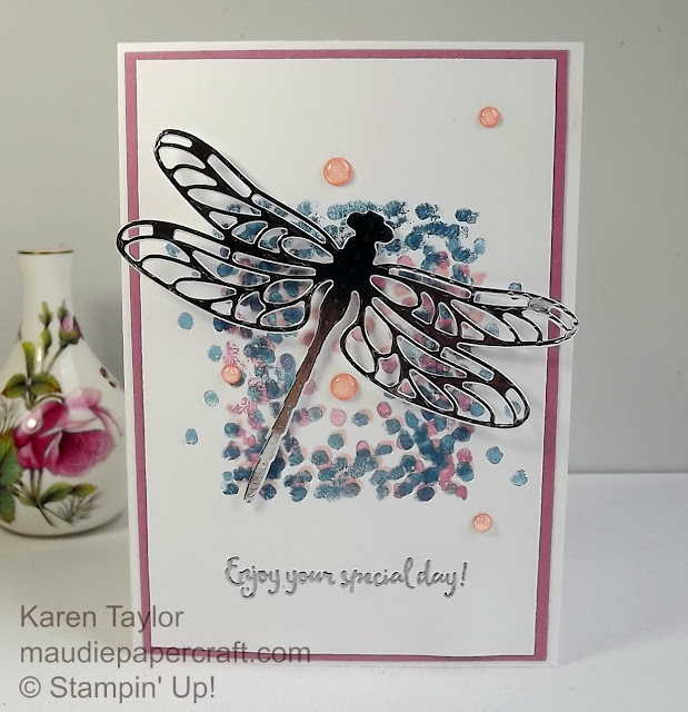 Stampin' Up! Dragonfly Dreams card