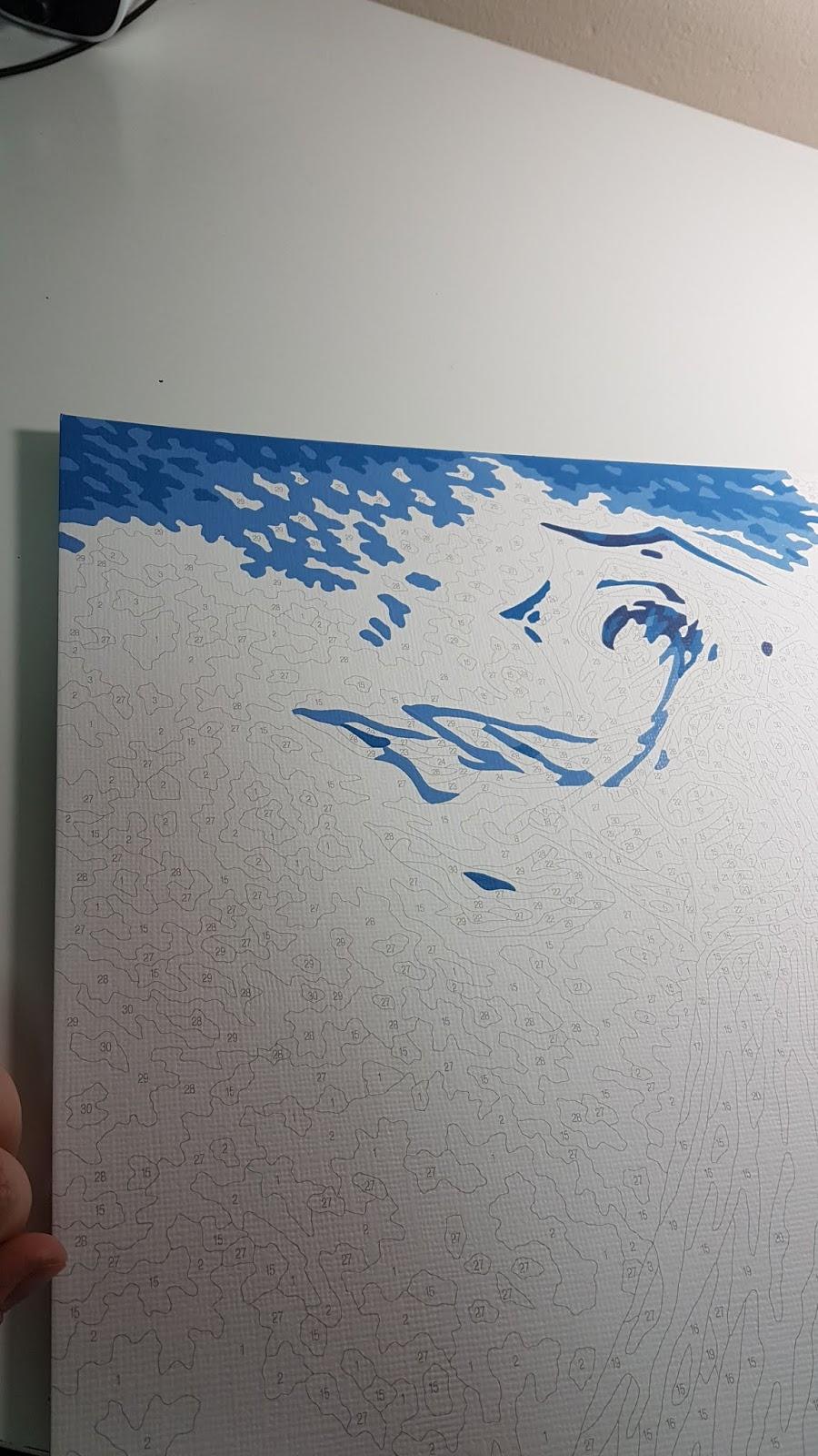 Maľovanie Podľa Cisiel Malen Nach Zahlen Painting By Numbers Zena