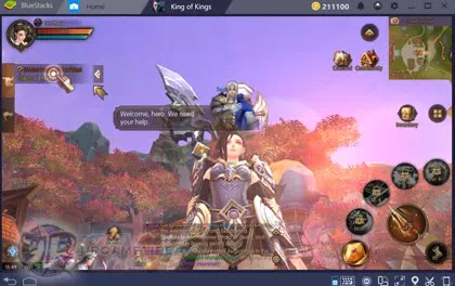 World of Kings: How To Play on PC with Bluestacks