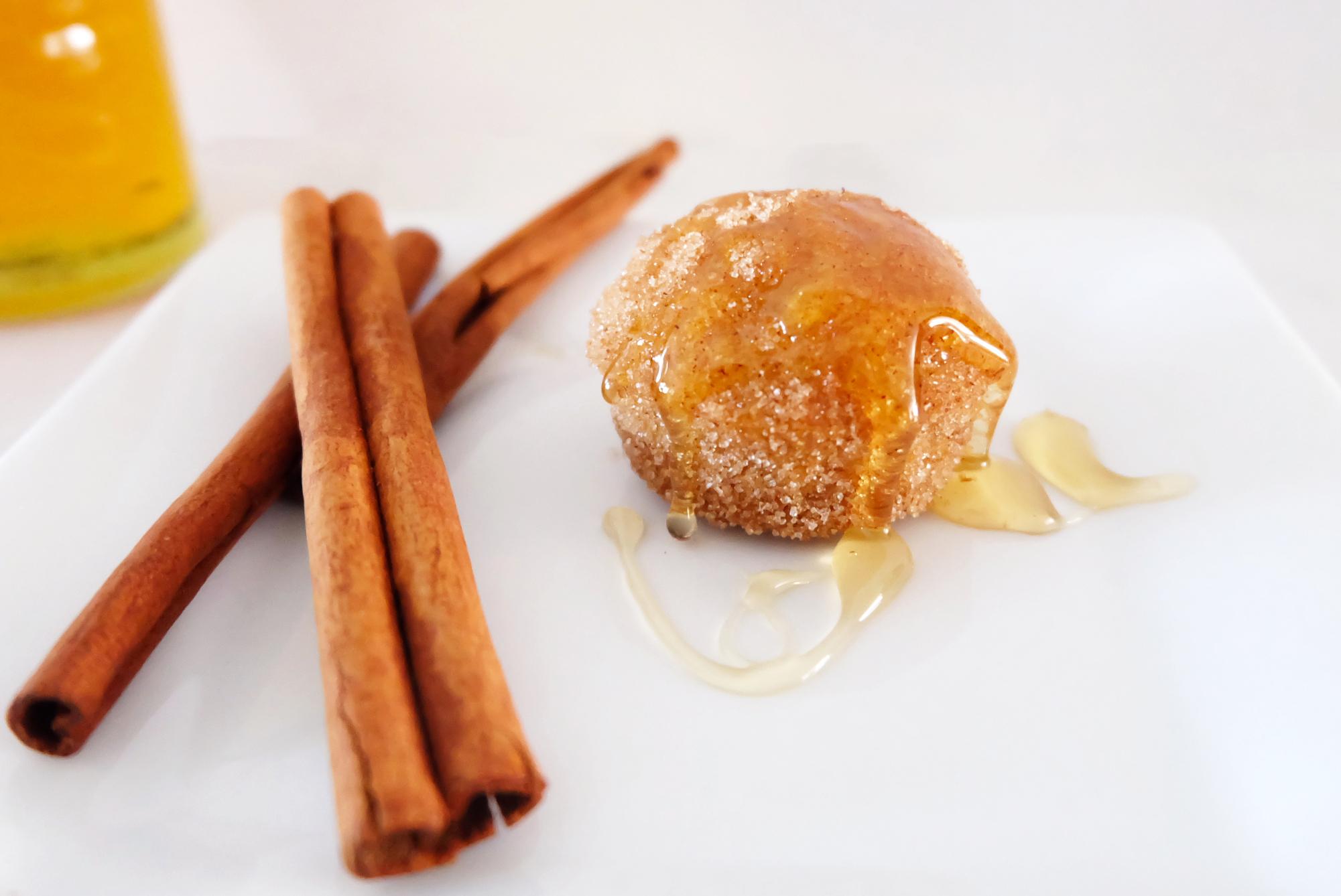 mini cinnamon sugar honey puff