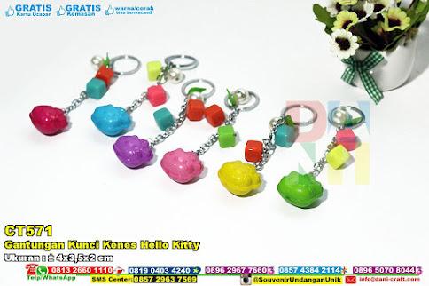 Gantungan Kunci Kenes Hello Kitty
