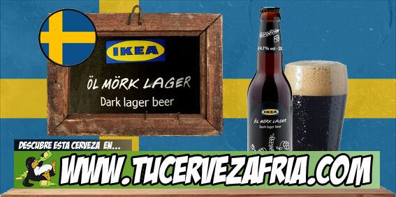 Cerveza ÖL MÖRK LAGER Ikea