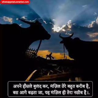 indian farmer shayari image