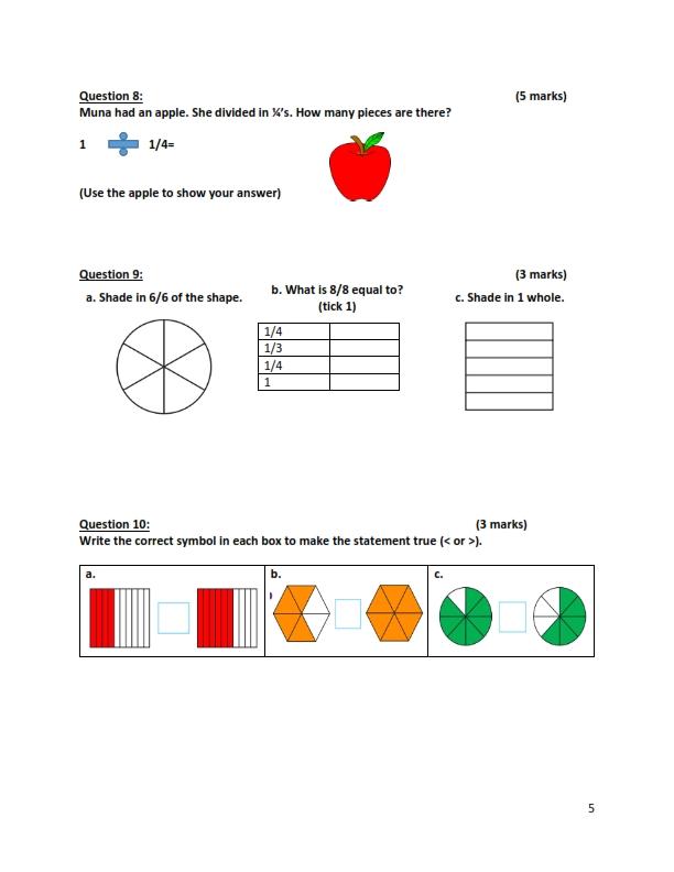 حل أسئلة كتاب الطالب لمادة العلوم للصف الخامس الفصل الاول