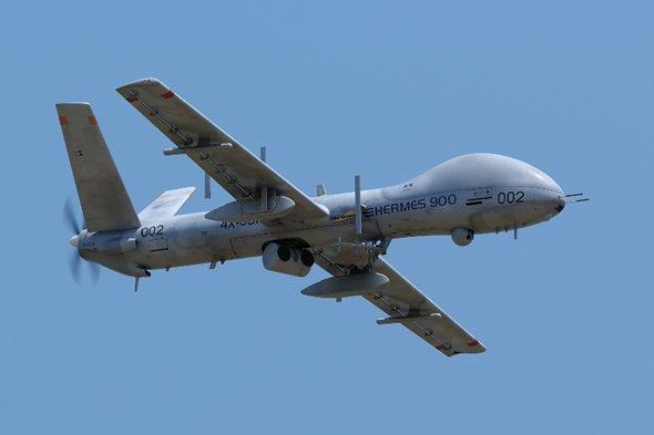 Elbit Hermes 900 MALE UAV