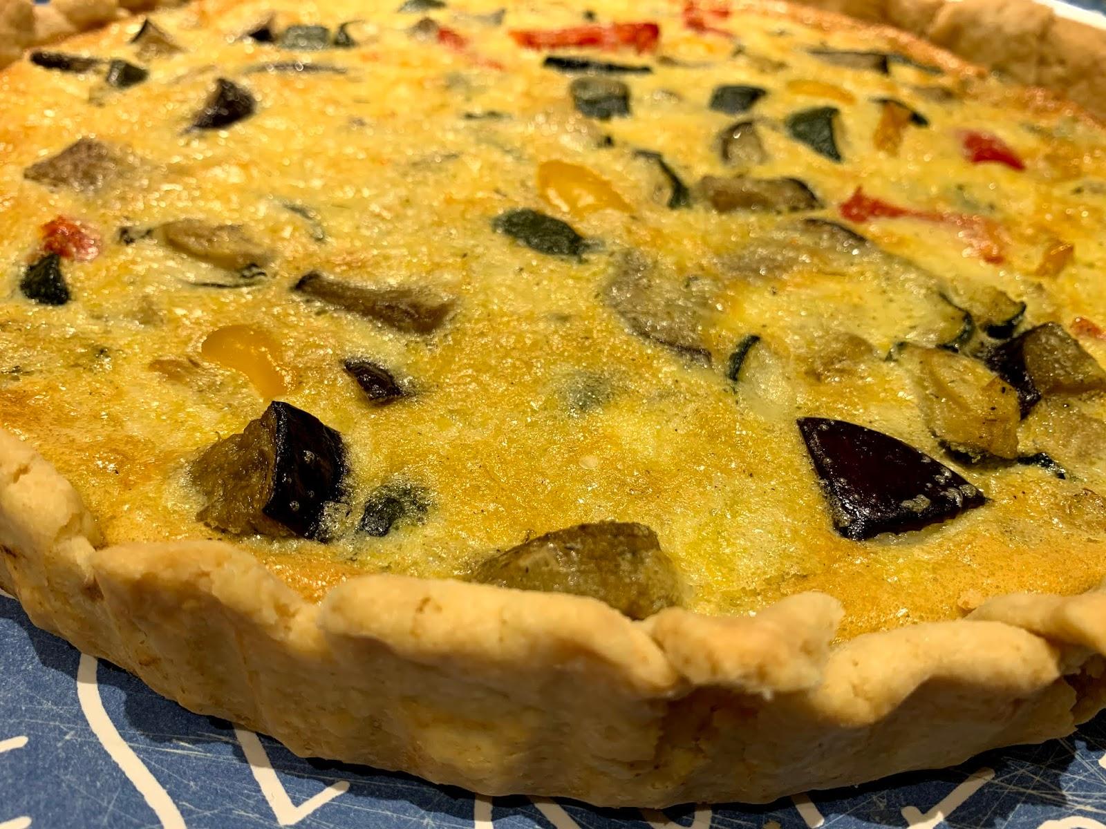 Quiche, flan, tarta – opcja warzywna