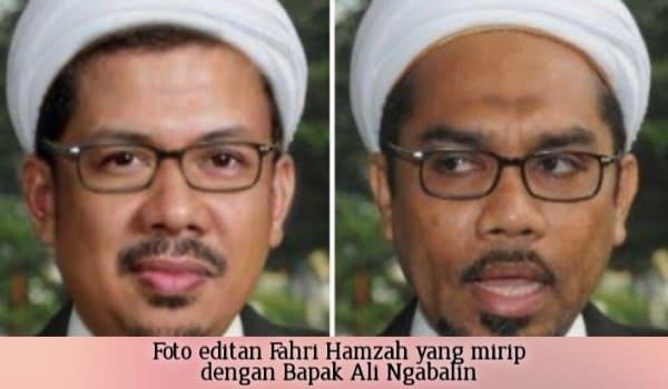 Begini Reaksi Fahri Hamzah Saat Tahu Fotonya Diedit Mirip Ngabalin