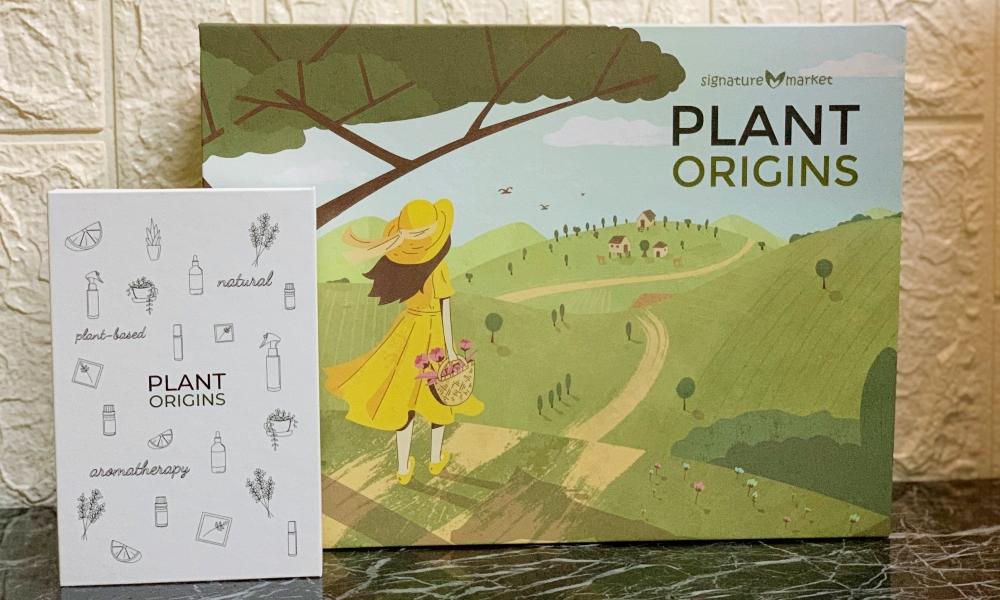 Plant Origins, Plant Origins Holiday Gift Set, Plant Origins Refresh & Reset, Rawlins GLAM, Rawlins Lifestyle, Plant Origins Refresh & Reset Aromatherapy Gift Set, Signature Market, Health by Rawlins