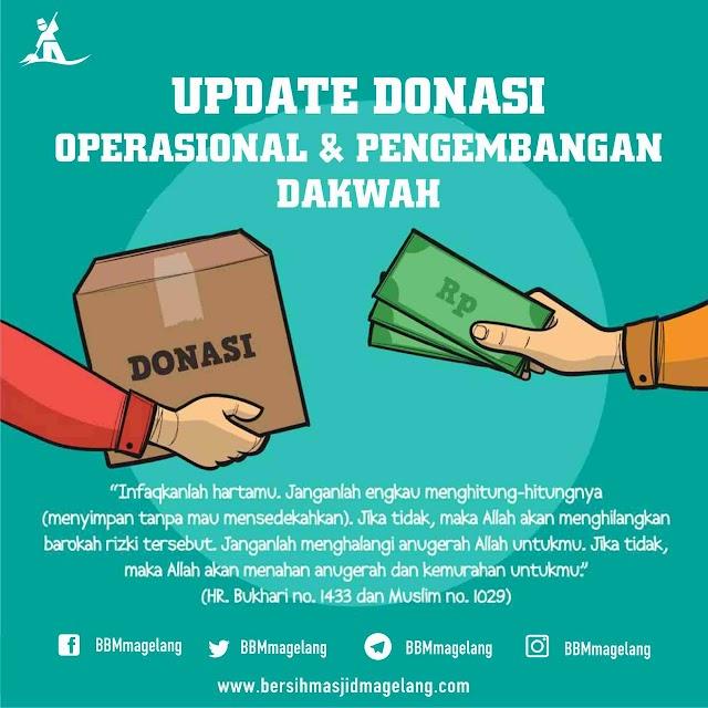 Laporan Keuangan Tim Bersih-bersih Masjid Magelang (BBM) 1 Maret- 05 Oktober 2019