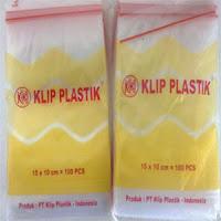 Jual plastik klip di Medan.