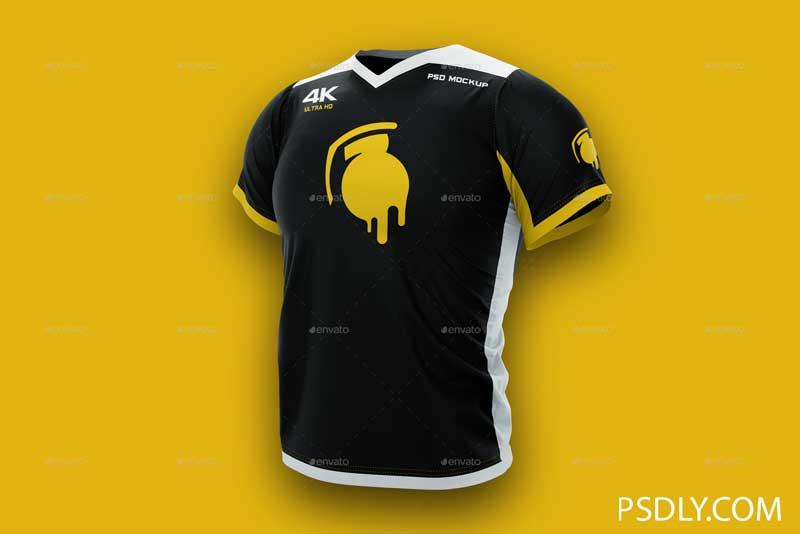 Download 4K Esports Jersey Design Mockup - PSDLY