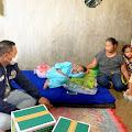 Berbagi Kasih, AKP Pandu Winata Kembali Bantu Anak 13 Tahun Penderita Kelainan Jantung