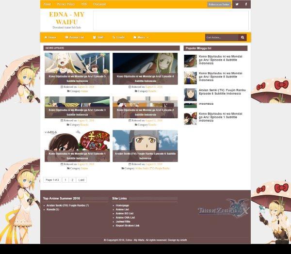 Edna Responsive Magazine Blogger Template - free cute blogger templates