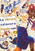 La librera calavera Honda-san #3 - manga - Fandogamia