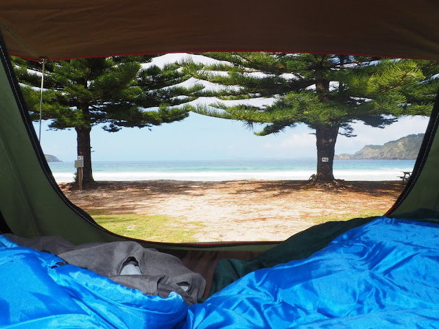 Neuseeland, Campsite