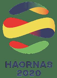 logo hari olahraga nasional 2020 png