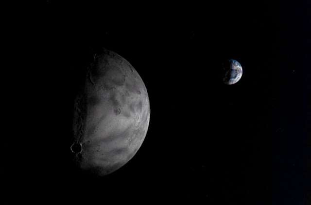 Chang'e 5 Photo of Moon and Earth
