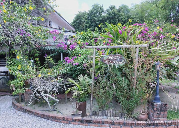 Penginapan ala desa di The Roots Eco-Resort Ipoh