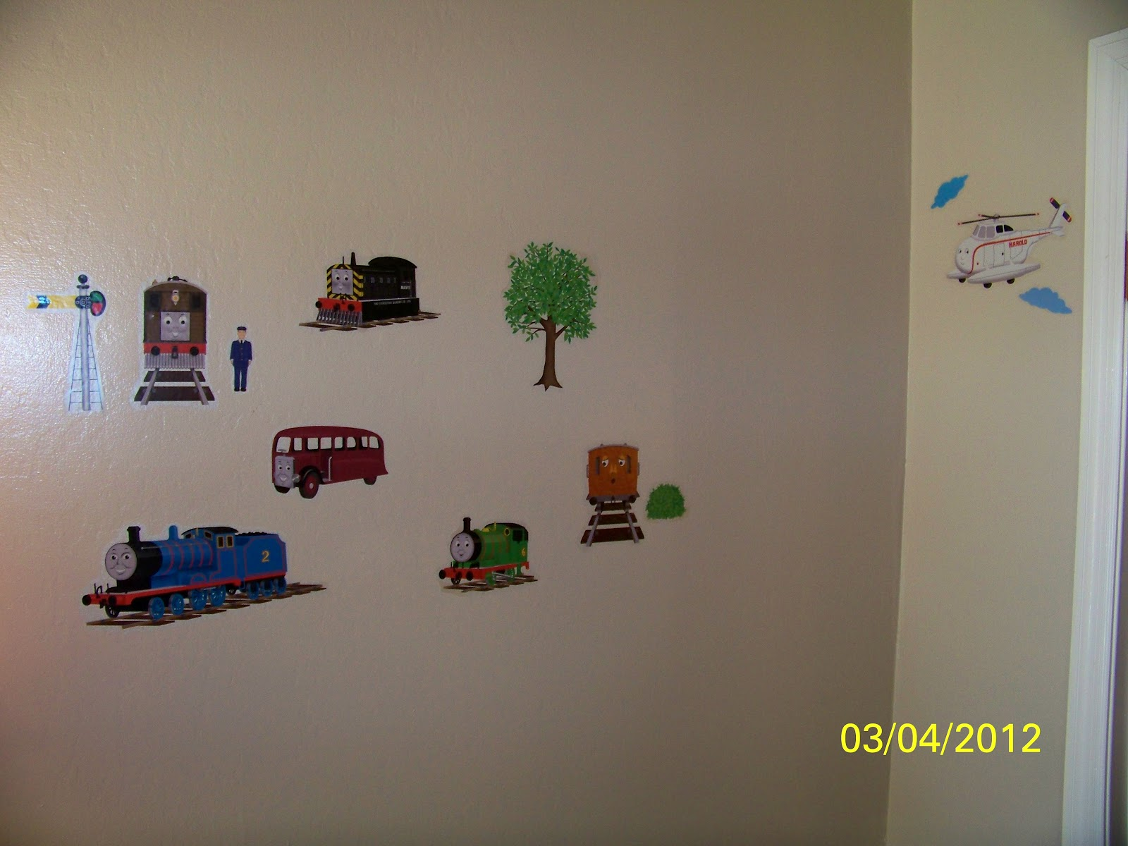 In Over Our Heads Train Birthday Party Decor