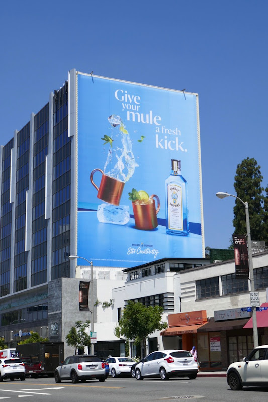 Bombay Sapphire Give Mule fresh kick billboard