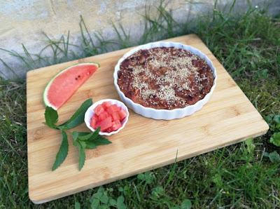 Griechischer Wassermelonenkuchen (Karpouzopita)