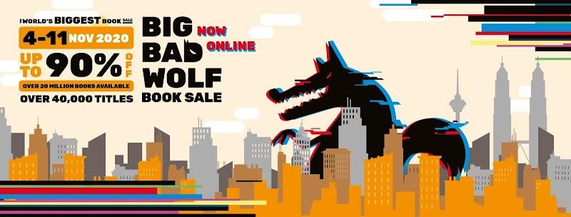 Jualan Buku Terbesar Di Dunia Jualan Buku Big Bad Wolf Akan Melancarkan Platform Online Pada November Ini