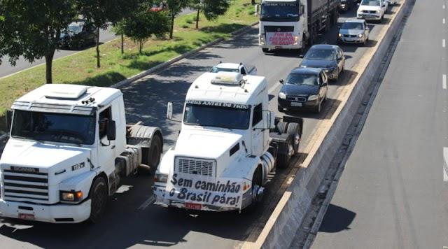 Greve no Piauí? Caminhoneiro diz que 2019 está pior que 2018 e setor sofre colapso
