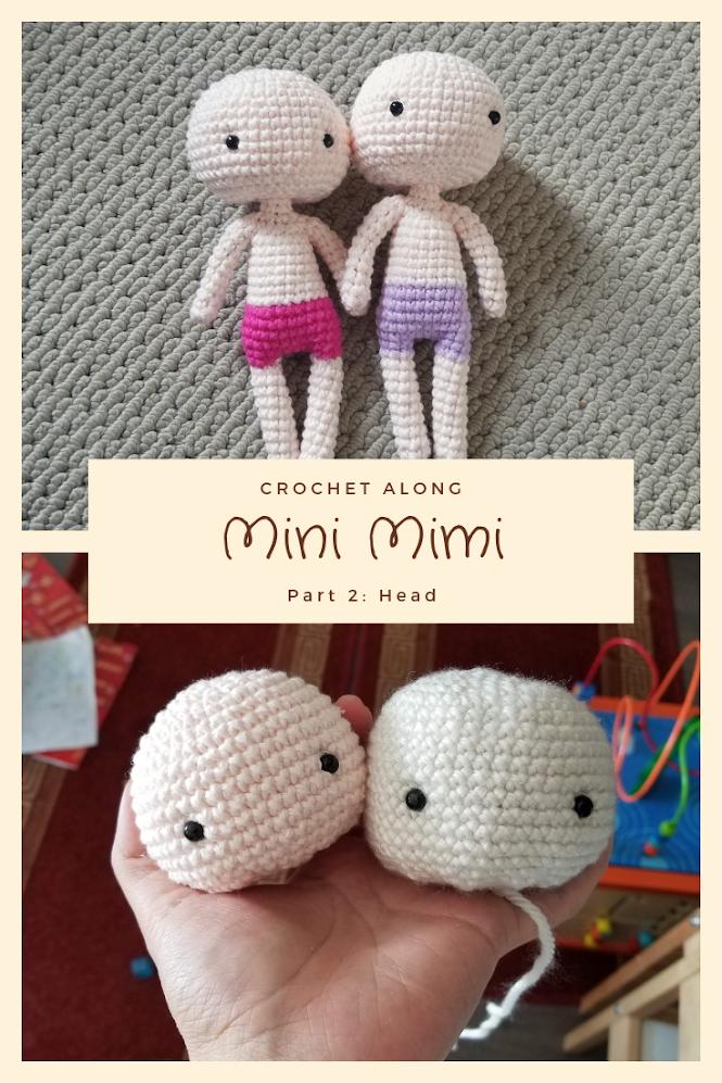 Basic Amigurumi Doll Base FREE Crochet Pattern
