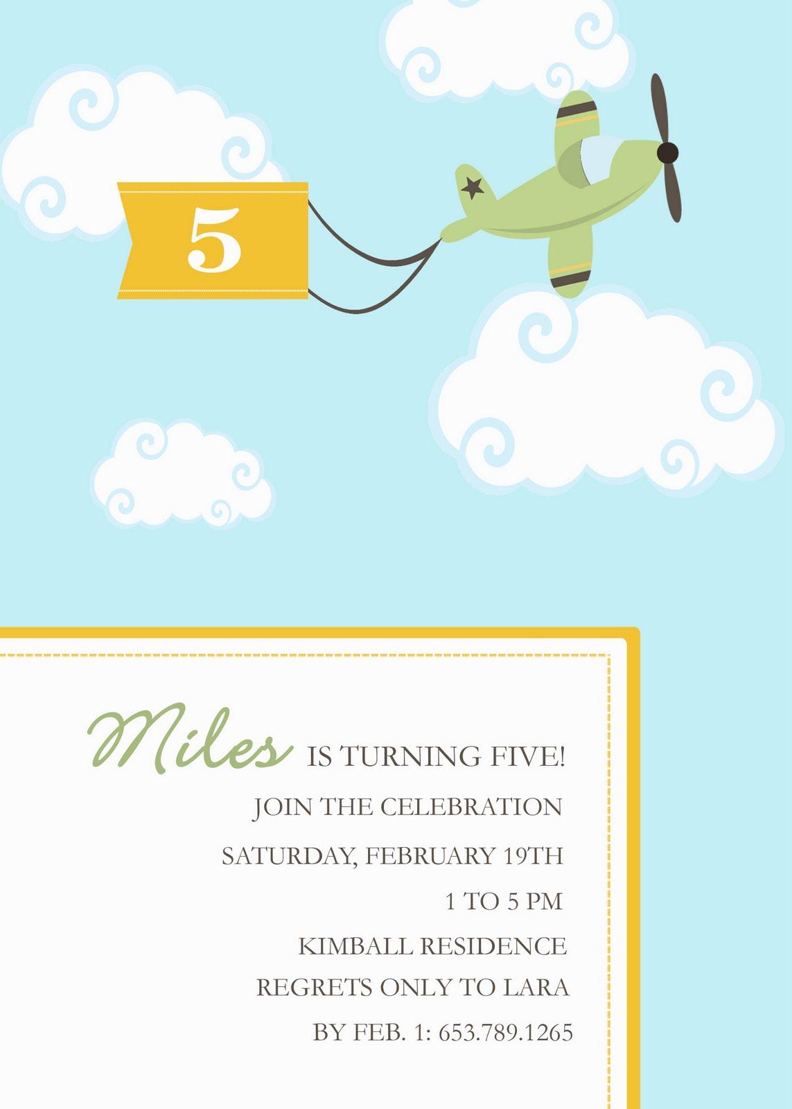 3paperdolls new printable airplane theme birthday invite