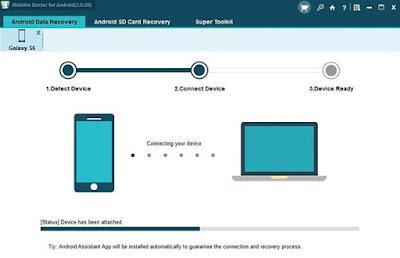 Cara Mengembalikan Data Android Yang Hilang Dengan Mobikin