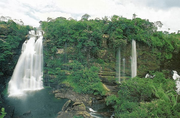 La Serranía de la Macarena en Colombia