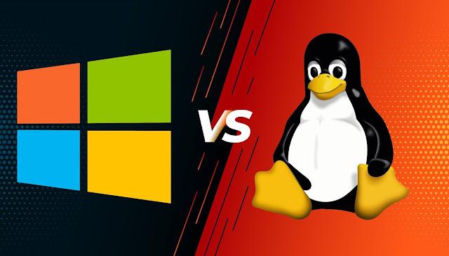 Pilih Windows atau Linux ? ini Jawaban simpelnya !