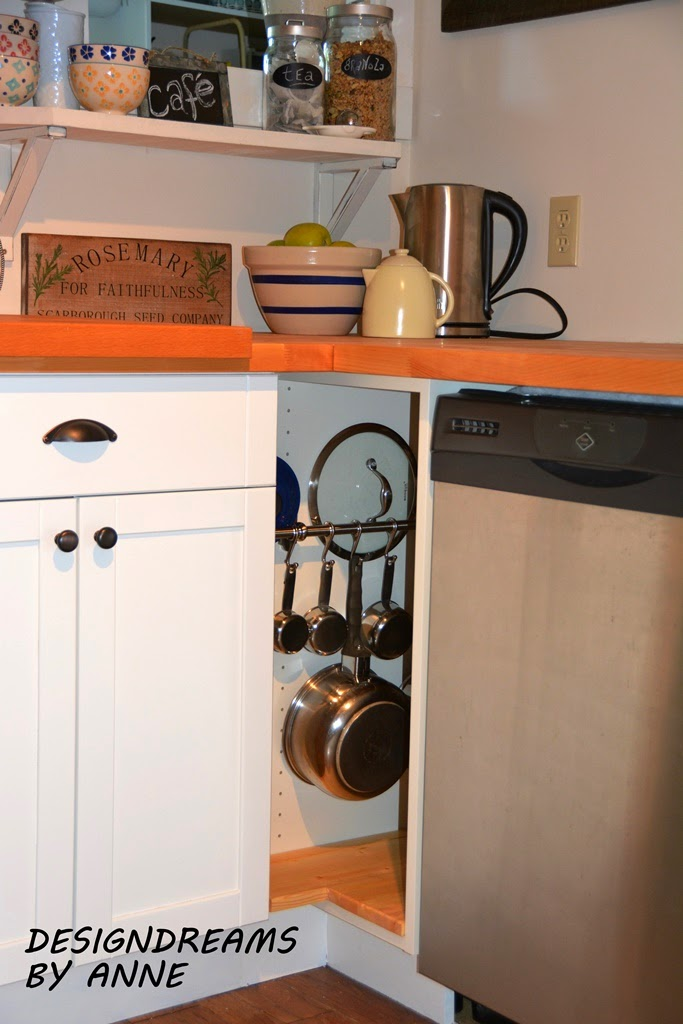 A Blind Corner In My Kitchen Is Now Filled With A Functional Custom Kitchen  Cabinet Thanks To Ikea Products!