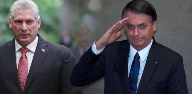 Bolsonaro acierta al no invitar al dictador de Cuba a su toma de posesión