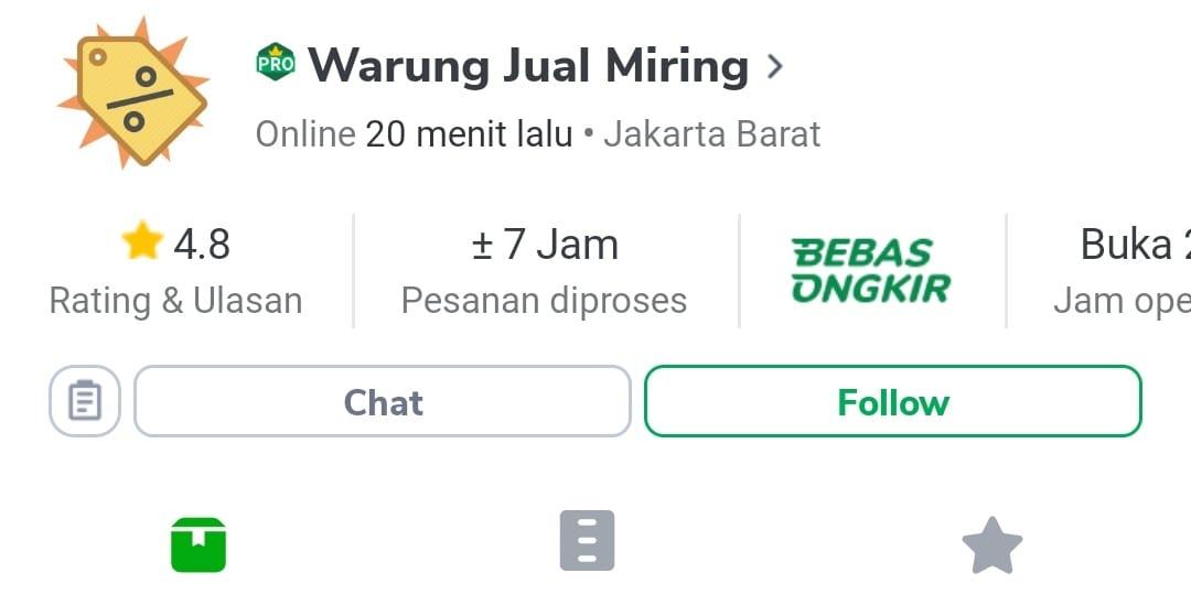 Warung Jual Miring - Toko Fashion Muslim