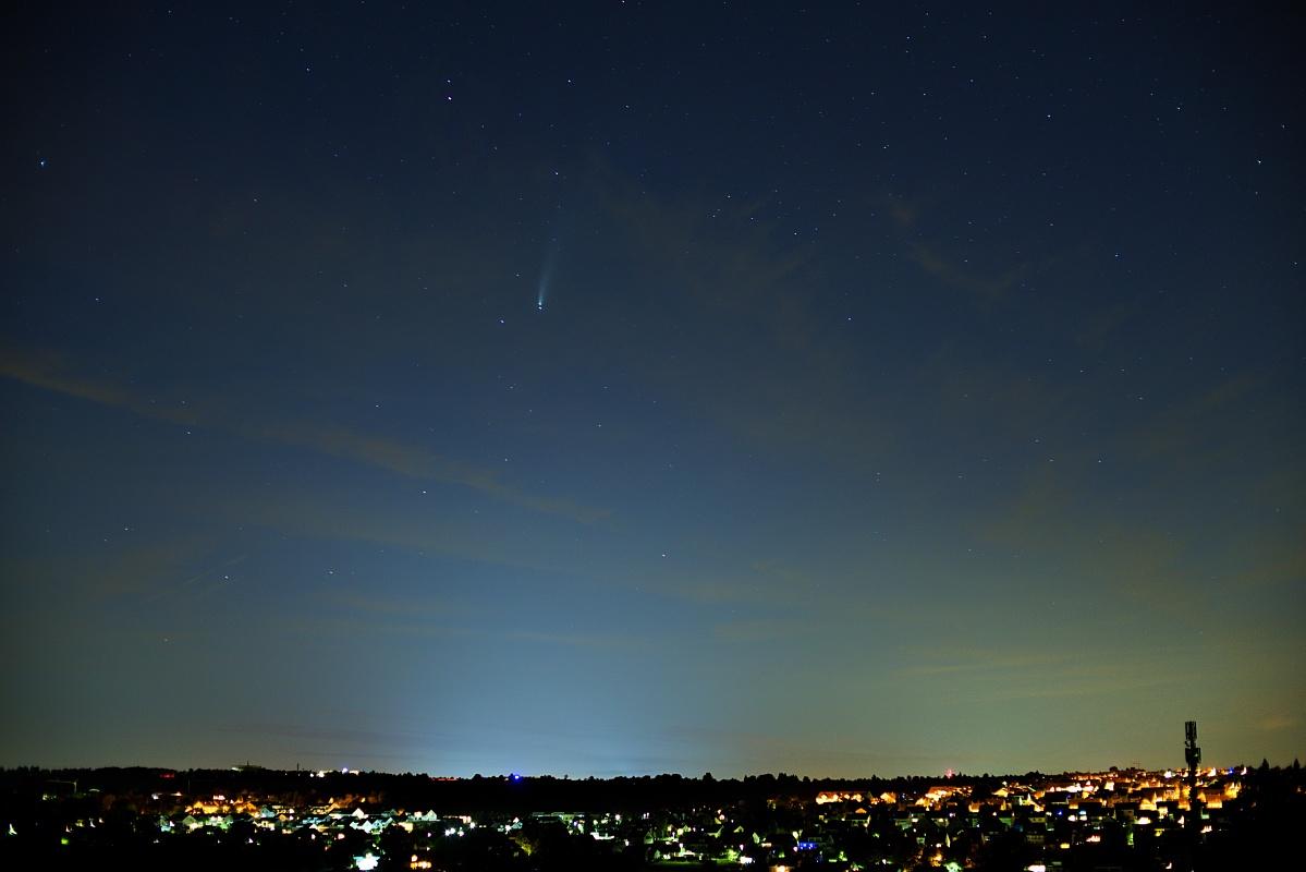 """Komet """"NEOWISE"""" – C/2020 F3 - Weil so selten"""