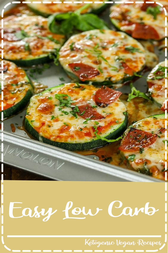 Zucchini Pizza Bites are one of our favorite snacks Easy Low Carb
