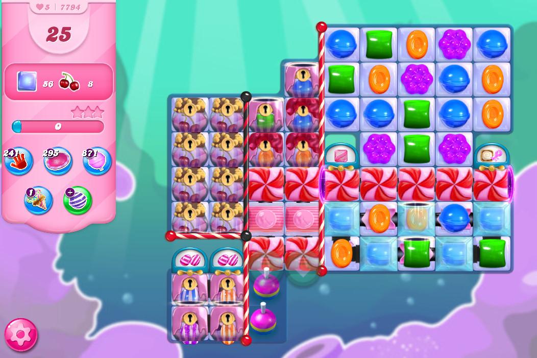 Candy Crush Saga level 7794