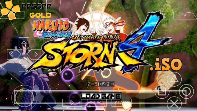 Download Naruto Shippuden Ultimate Ninja Storm 4 iso for Android PPSSPP