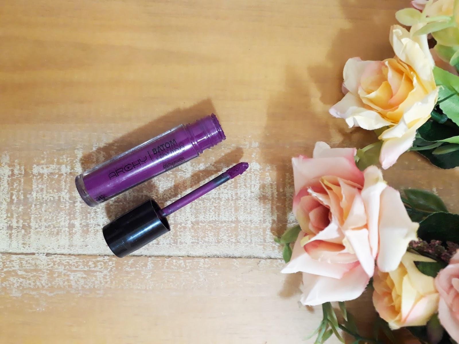 Batom Elegante Archy Makeup!