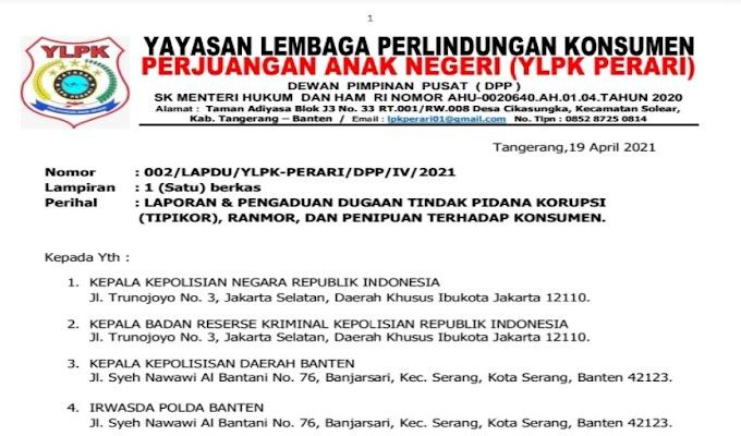 Diduga Melanggar Hukum, PT. AJM dan BPR Sarana Utama Multidana Dilaporkan ke Polda Benten